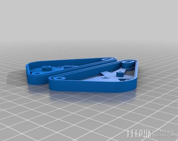 坦克形机器人 3D模型  图2
