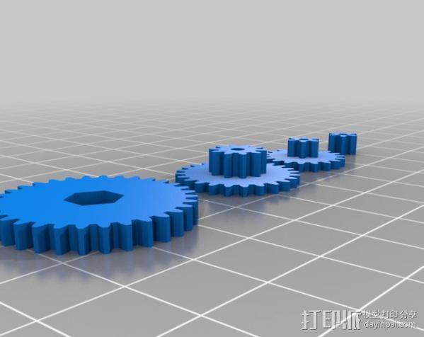 坦克形机器人 3D模型  图4