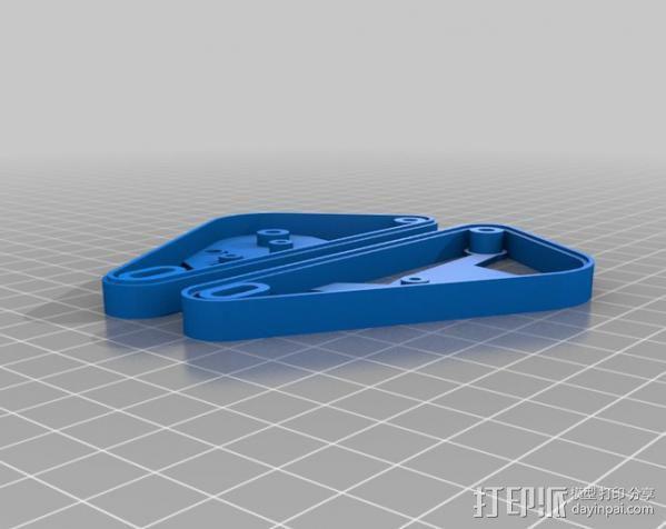 坦克形机器人 3D模型  图3
