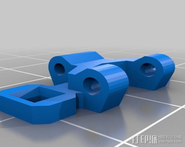 坦克形机器人 3D模型  图7