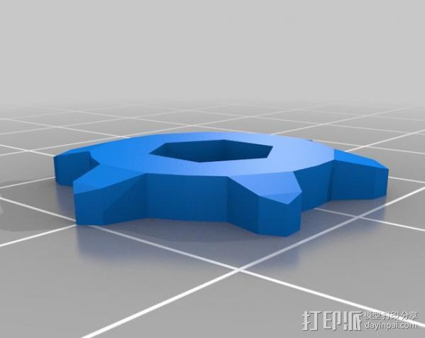 坦克形机器人 3D模型  图5