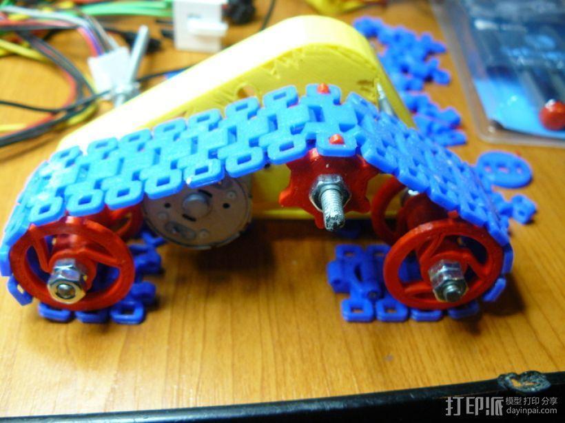 坦克形机器人 3D模型  图11