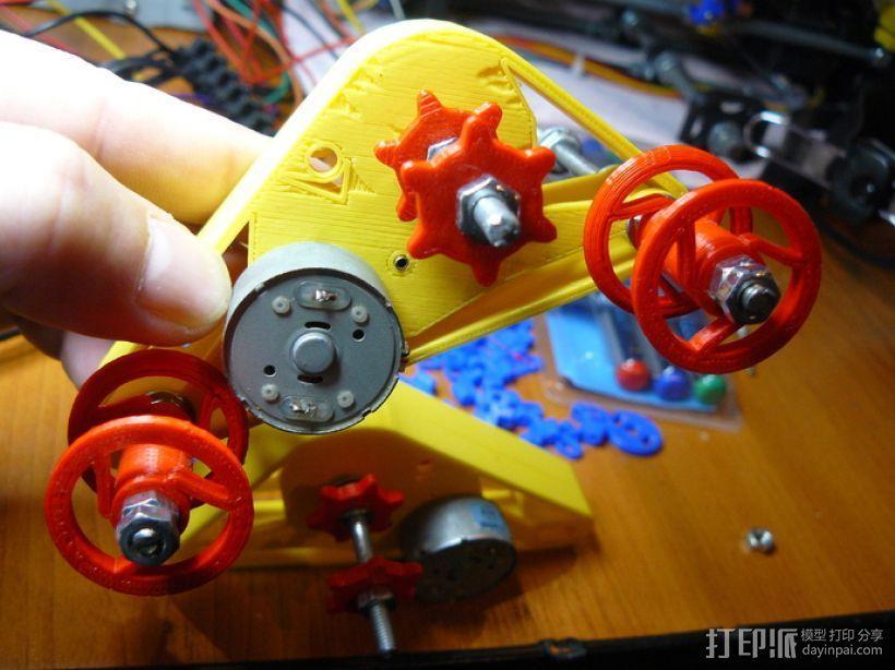 坦克形机器人 3D模型  图10