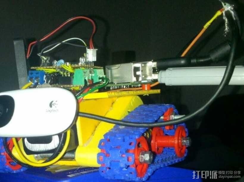 坦克形机器人 3D模型  图13