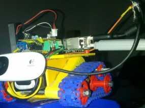 坦克形机器人 3D模型