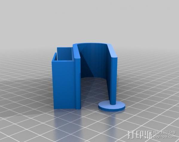 车库门开门夹 3D模型  图5