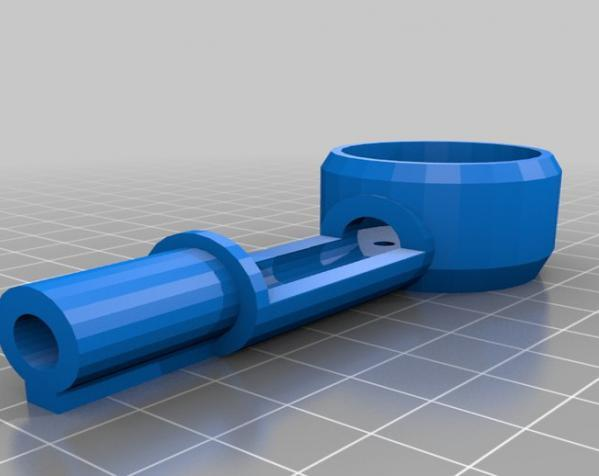 PL2Q Hugin 四轴飞行器 3D模型  图6