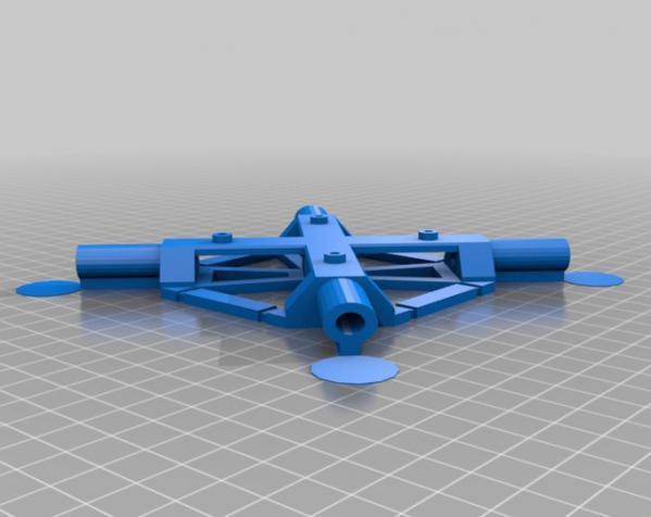 PL2Q Hugin 四轴飞行器 3D模型  图13