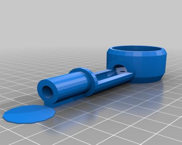 PL2Q Hugin 四轴飞行器 3D模型  图14
