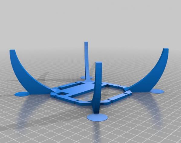 PL2Q Hugin 四轴飞行器 3D模型  图15