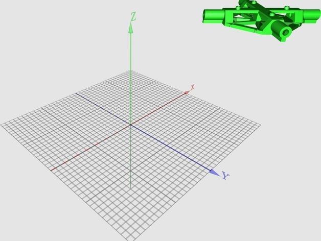PL2Q Hugin 四轴飞行器 3D模型  图18