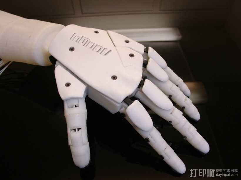 """左手机器人""""前进者"""" 3D模型  图1"""