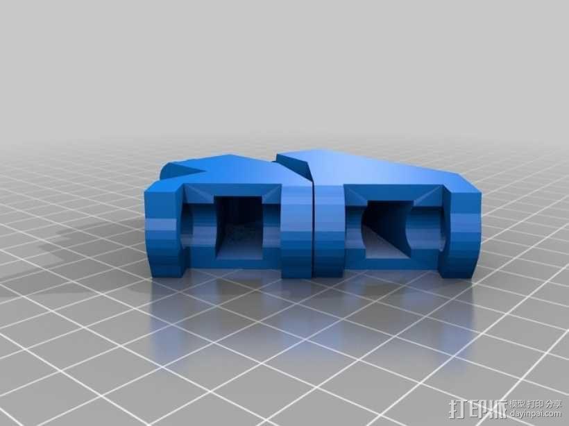 """左手机器人""""前进者"""" 3D模型  图10"""