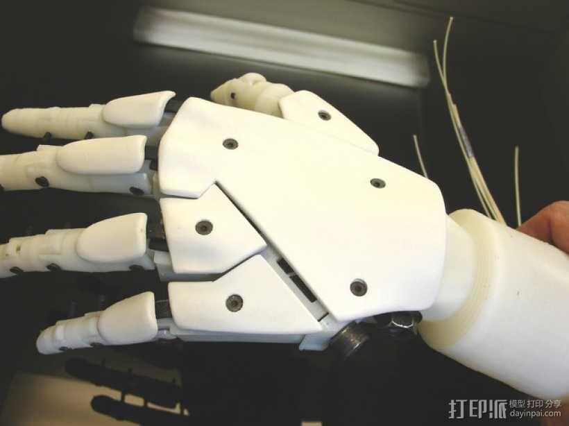 """左手机器人""""前进者"""" 3D模型  图13"""