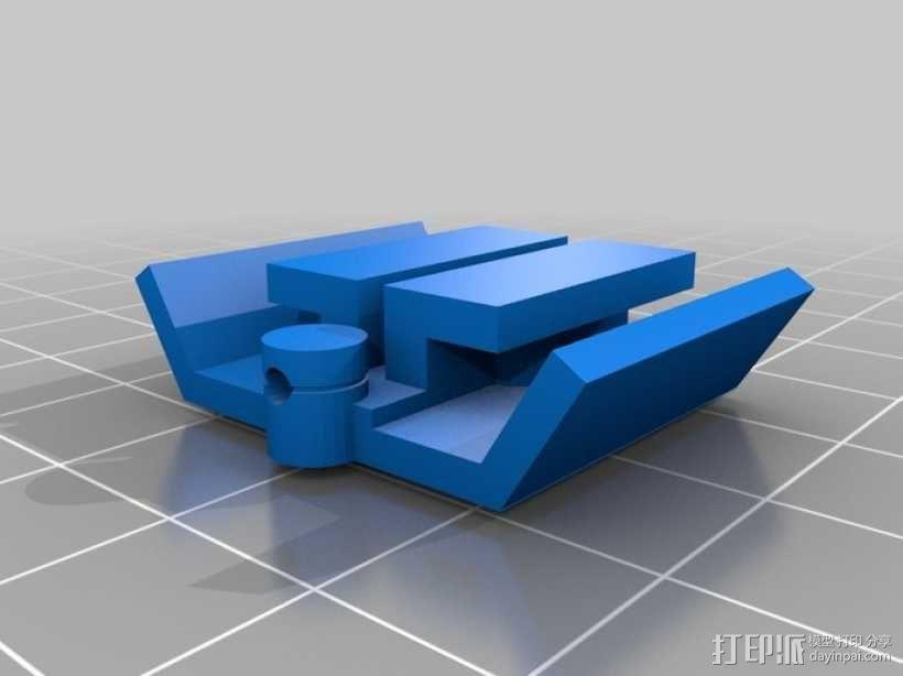 3D 打印无焊电路板 3D模型  图10