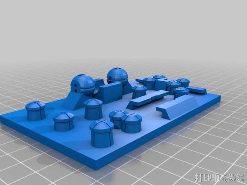 3D 打印无焊电路板 3D模型  图9