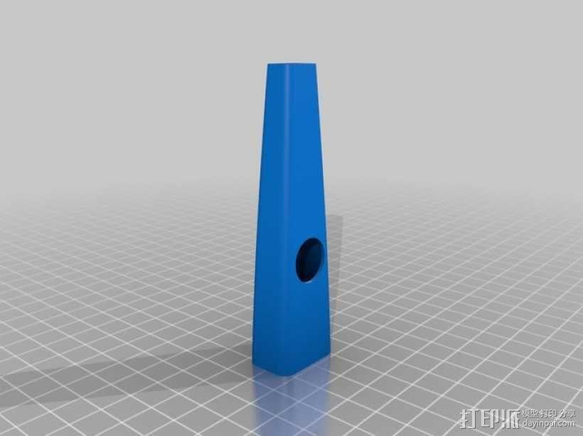 卡祖笛 3D模型  图2
