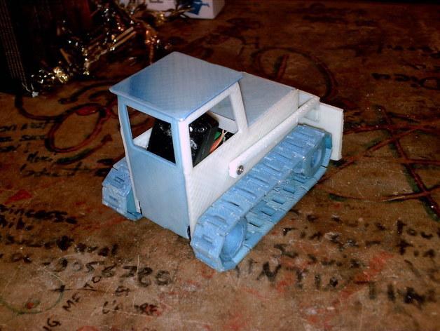RC打印推土机 3D模型  图2