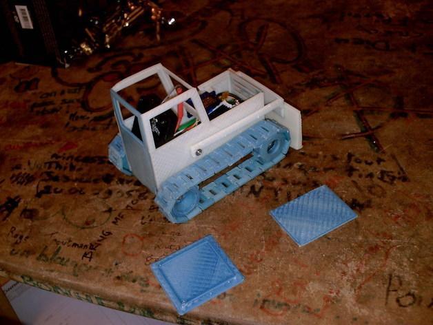 RC打印推土机 3D模型  图4