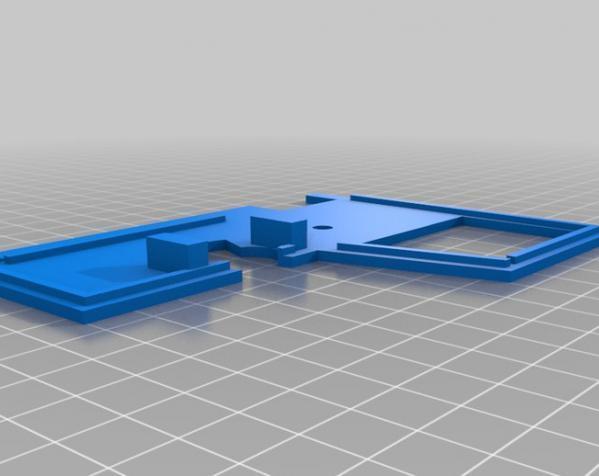 RC打印推土机 3D模型  图13