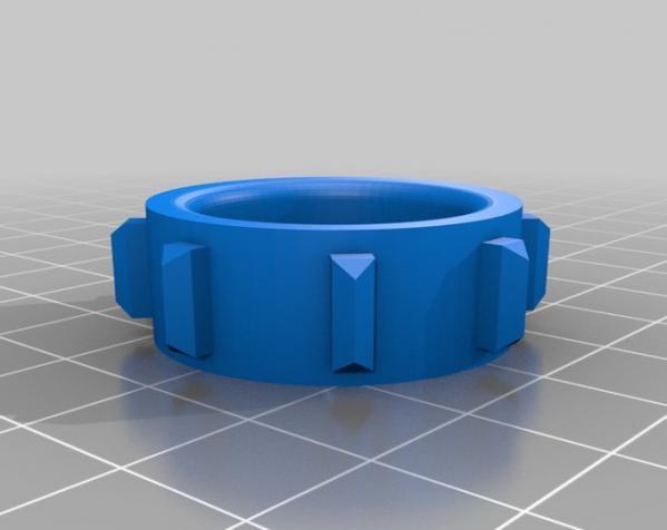 RC打印推土机 3D模型  图21