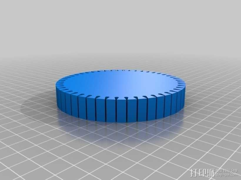 简易月球车 3D模型  图4