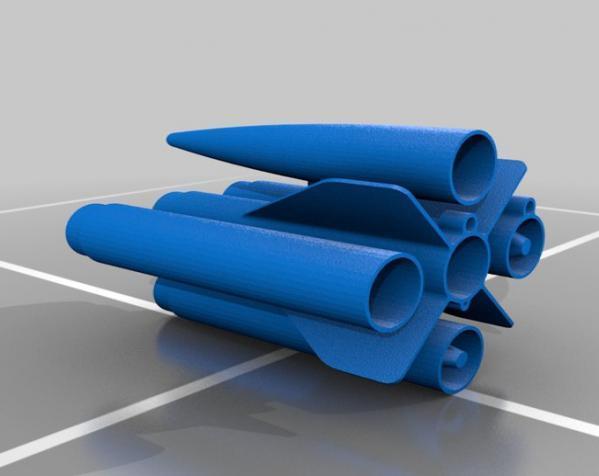 火箭模型 3D模型  图9
