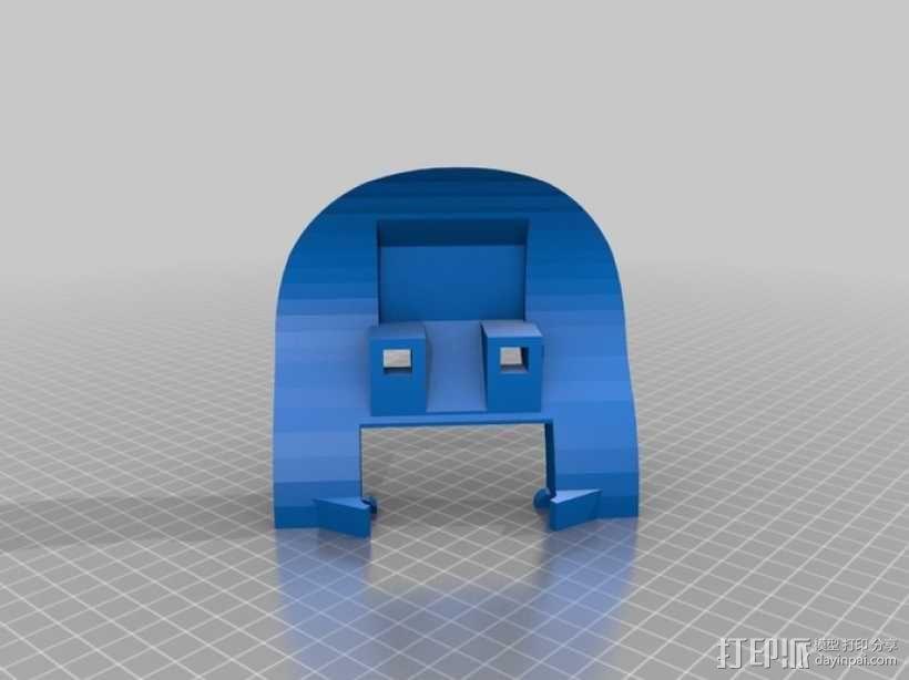 可移动沙滩车 3D模型  图1