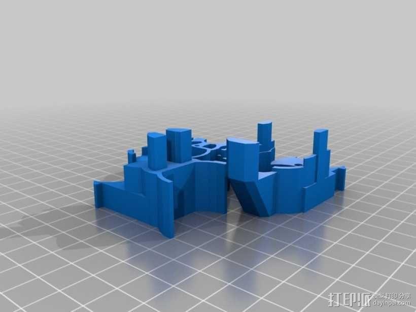 可移动沙滩车 3D模型  图5