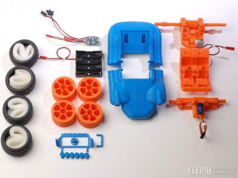 可移动沙滩车 3D模型  图9