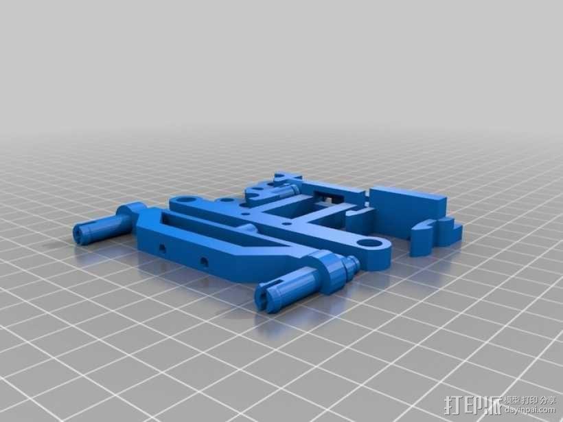 可移动沙滩车 3D模型  图7