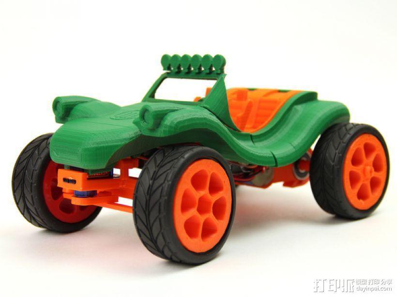 可移动沙滩车 3D模型  图8