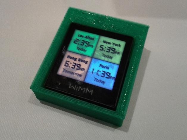 简易WIMM One桌型盒 3D模型  图1