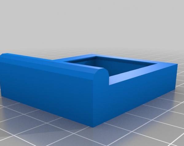 简易WIMM One桌型盒 3D模型  图3