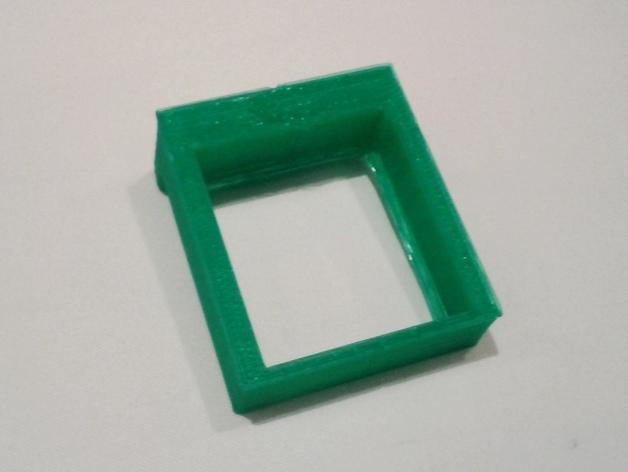简易WIMM One桌型盒 3D模型  图2