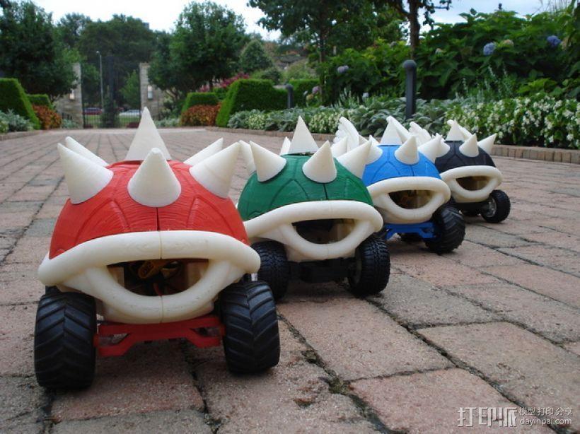 高性能龟壳赛车 3D模型  图4