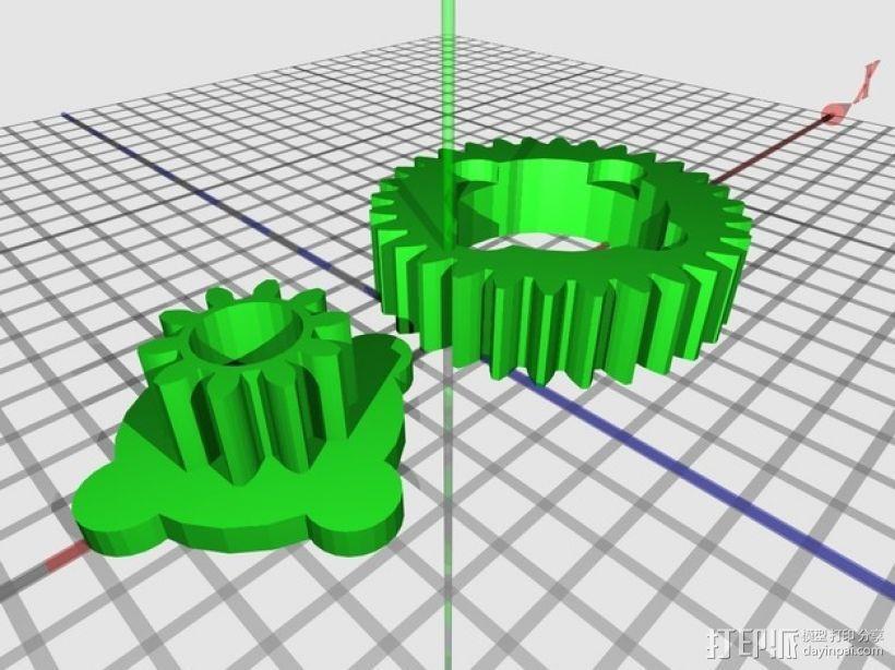高性能龟壳赛车 3D模型  图9