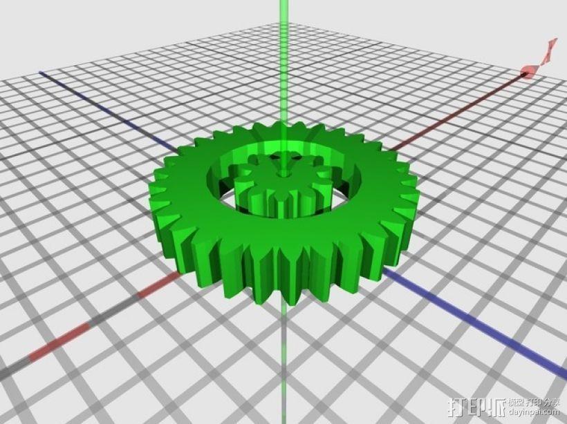高性能龟壳赛车 3D模型  图10