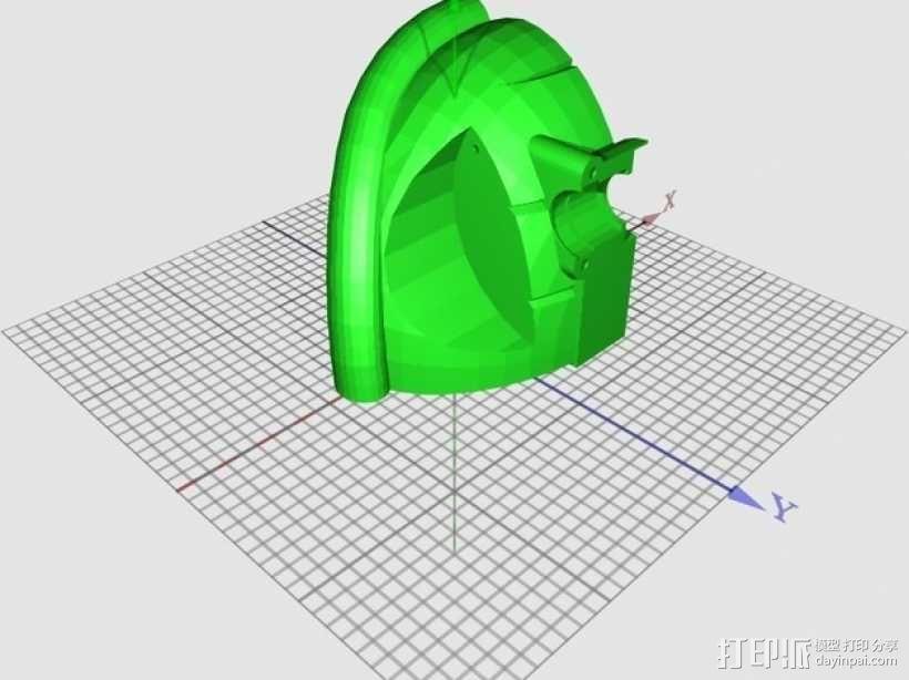 高性能龟壳赛车 3D模型  图16