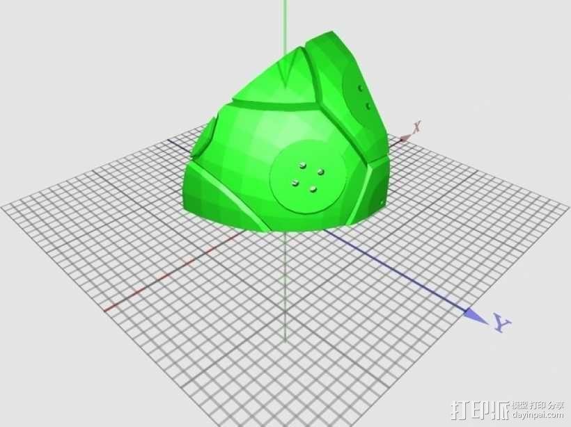 高性能龟壳赛车 3D模型  图20
