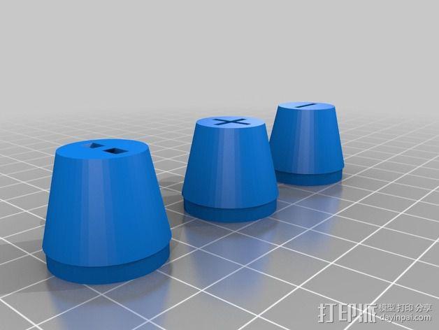 曼妥思健怡可乐炮 3D模型  图3