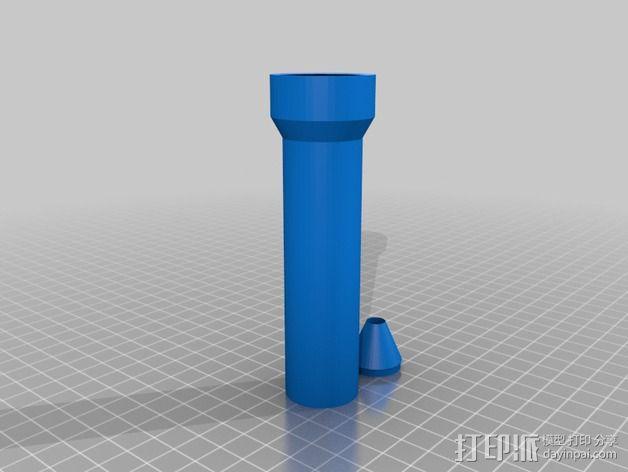 曼妥思健怡可乐炮 3D模型  图5