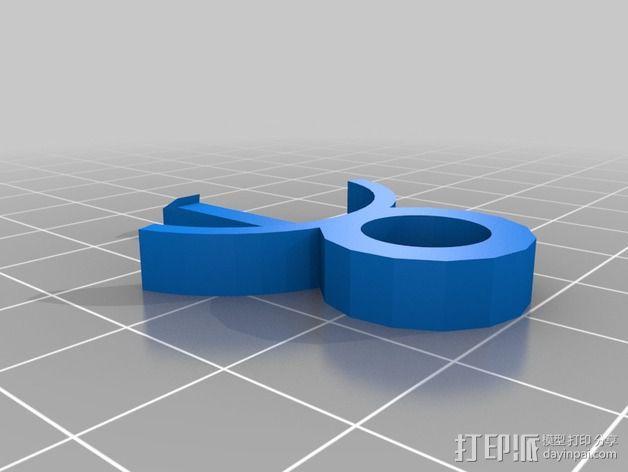 曼妥思健怡可乐炮 3D模型  图4