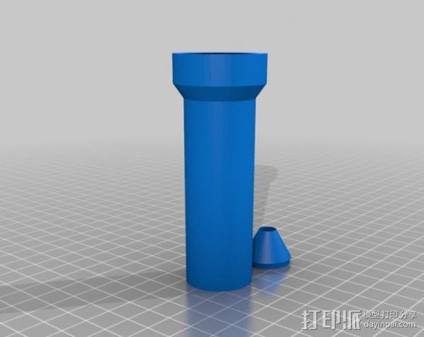 曼妥思健怡可乐炮 3D模型  图7