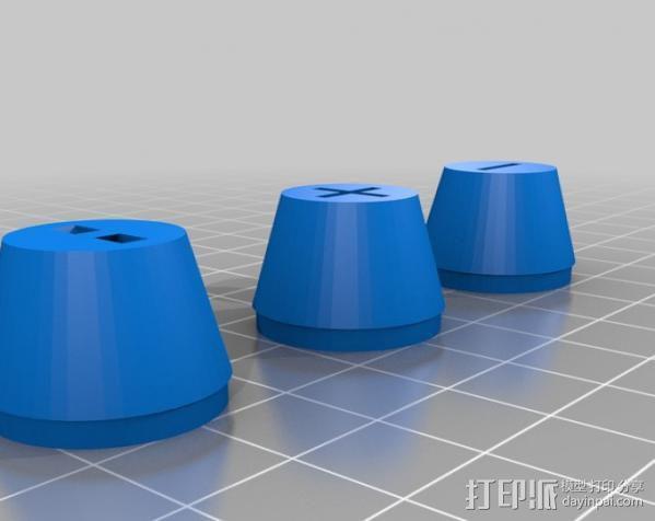 曼妥思健怡可乐炮 3D模型  图10