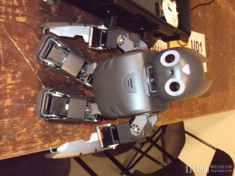 DArwln-OP机器人的支架及组件 3D模型  图6