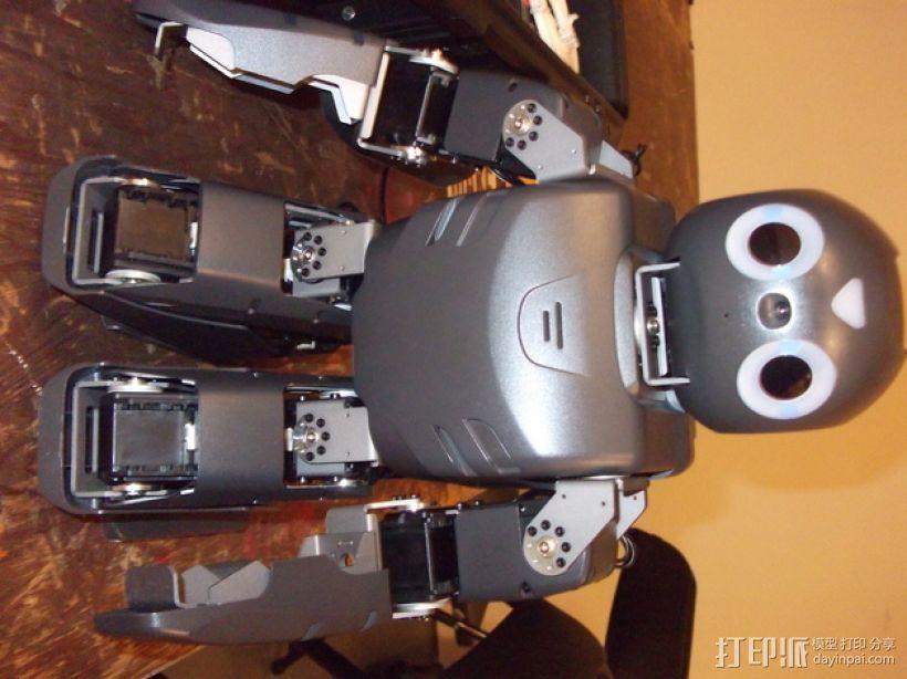 DArwln-OP机器人的支架及组件 3D模型  图7