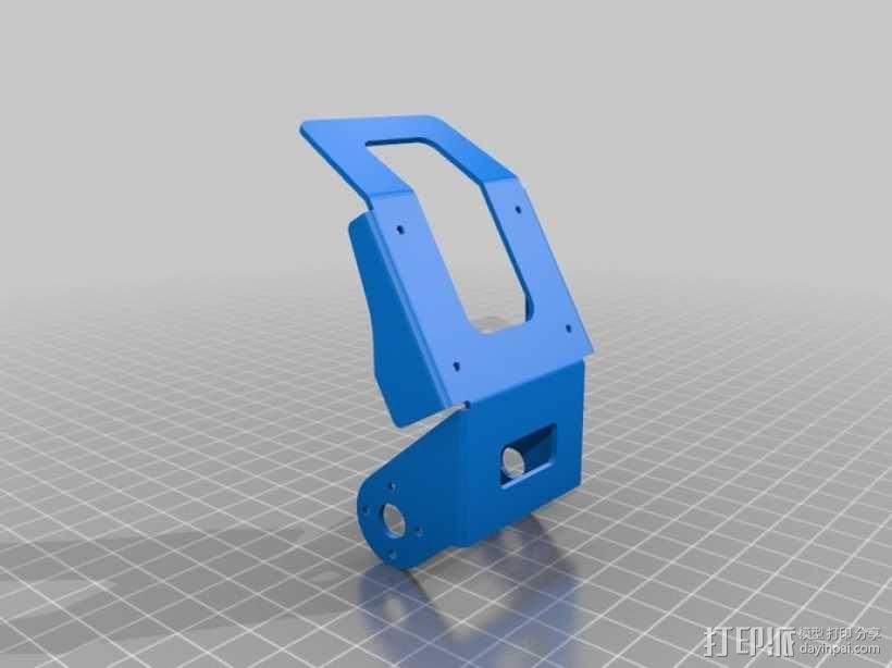 DArwln-OP机器人的支架及组件 3D模型  图13