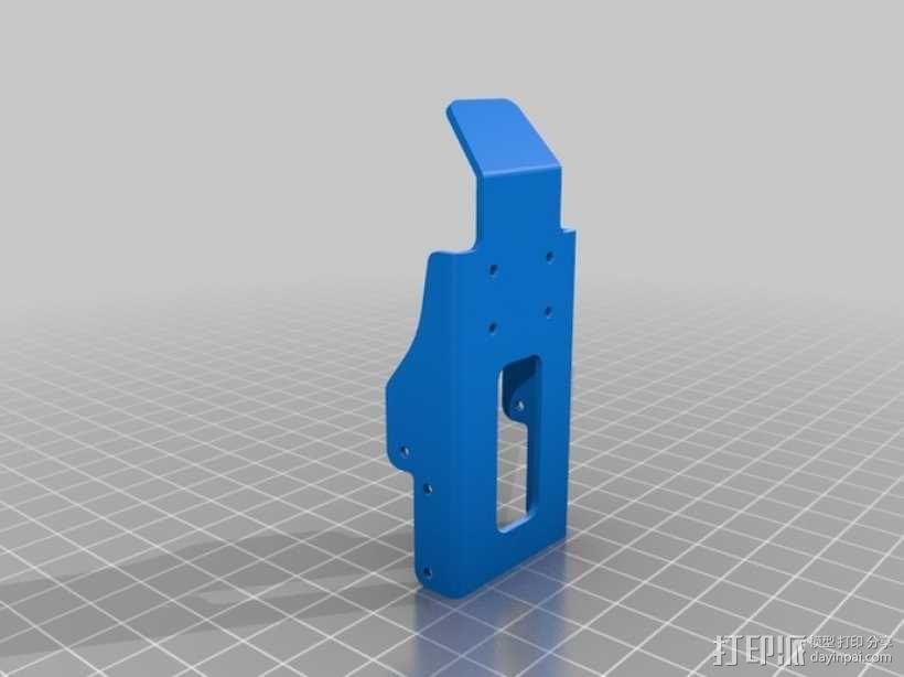 DArwln-OP机器人的支架及组件 3D模型  图14