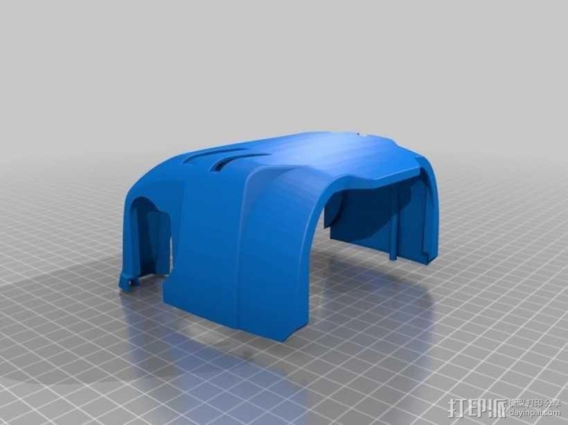 DArwln-OP机器人的支架及组件 3D模型  图15